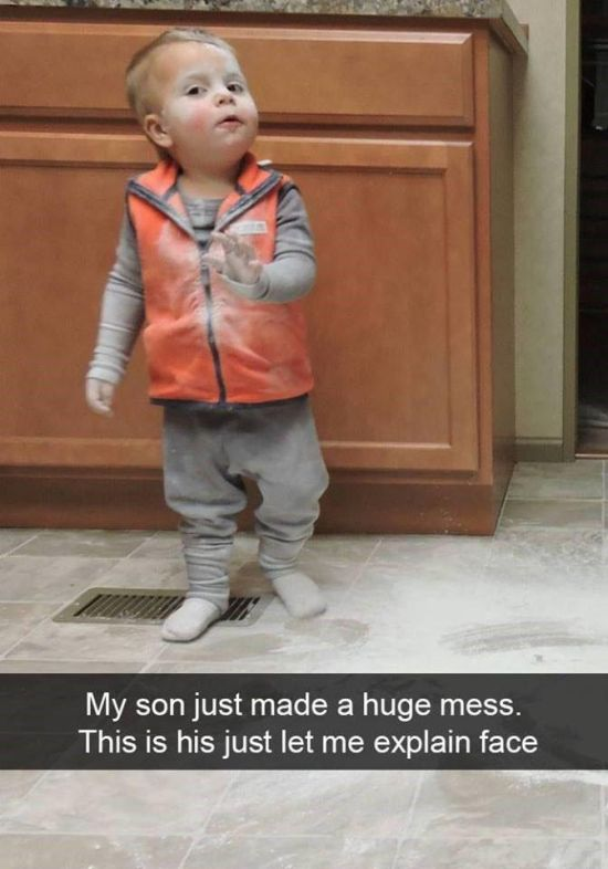 Snapchats That Prove All Kids Are Ridiculous (20 pics)