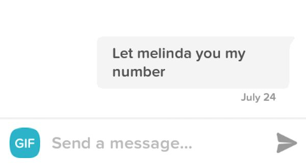 Not All Pick Up Lines Are Created Equal On Tinder (24 pics)
