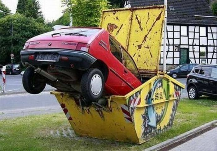 Car Fails That Are So Bad They're Impressive (25 pics)