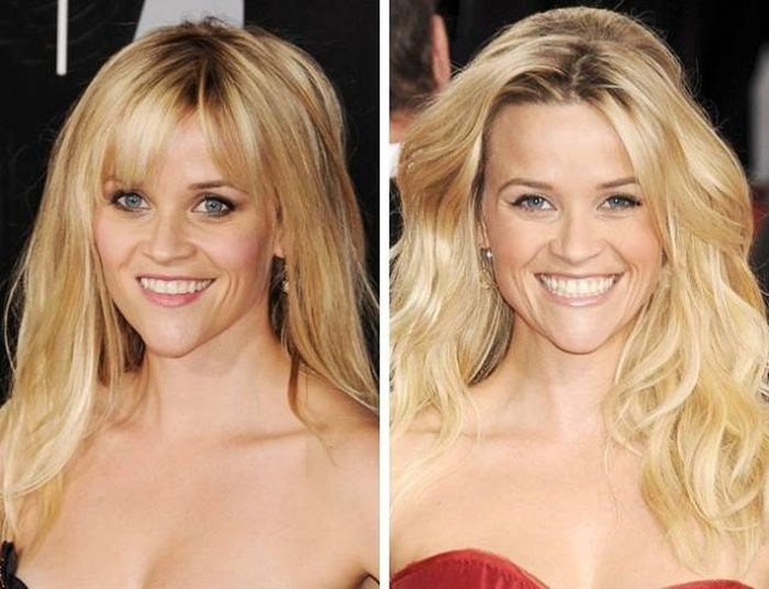 Celebrity Photos That Prove Bangs Change Everything (15 pics)