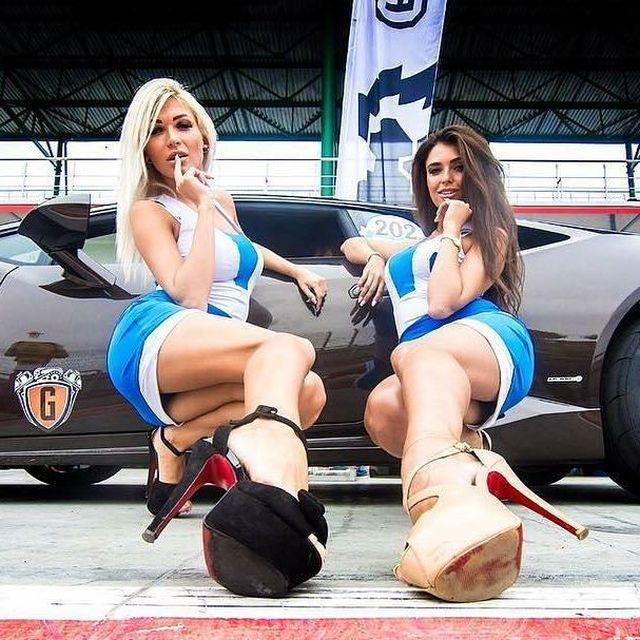 The Beautiful Girls Of The NRing Racing Circuit (53 pics)