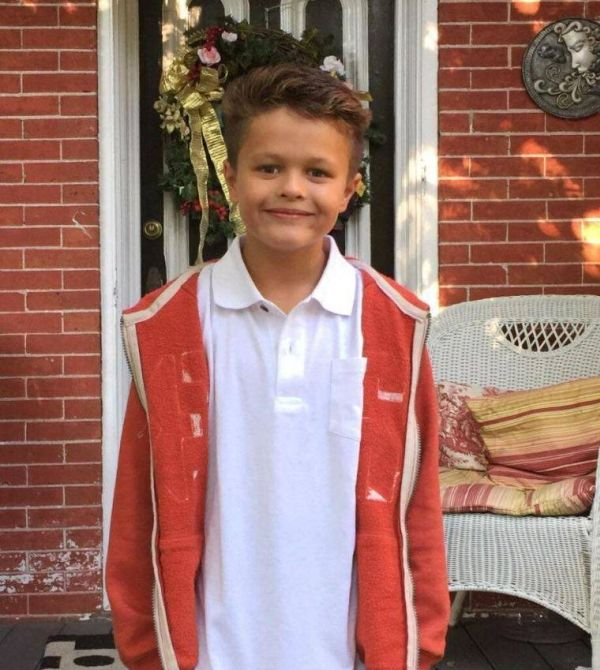 Before And After The Very First Day Of Grade School (2 pics)