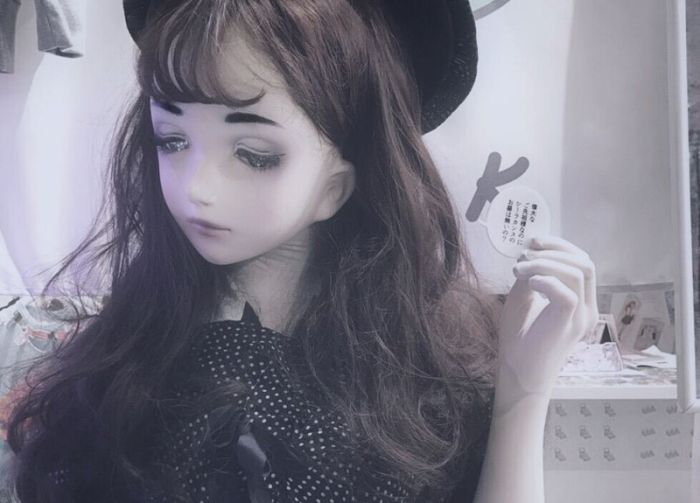 Lulu Hashimoto Is A Real Life Japanese Doll (14 pics)