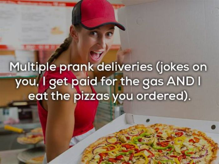 Pizza Delivery Girls Have Very Strange Lives… (30 pics)