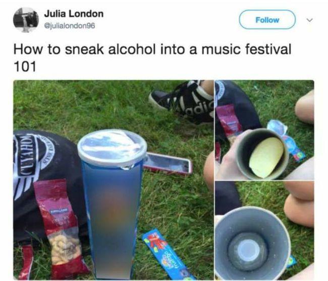 Cool Ways To Smuggle Alcohol (13 pics)