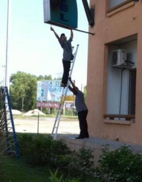"""Not Everybody Knows What The Word """"Safety"""" Means (32 pics)"""