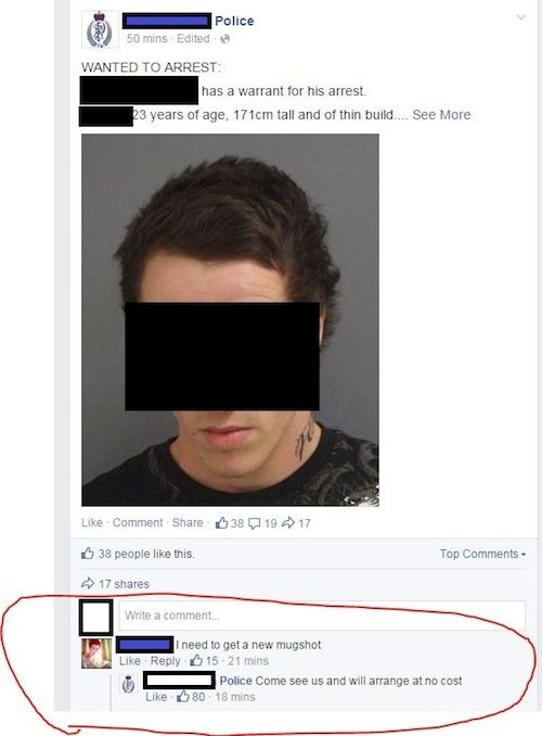 Funny Facebook Photo Comments (21 pics)