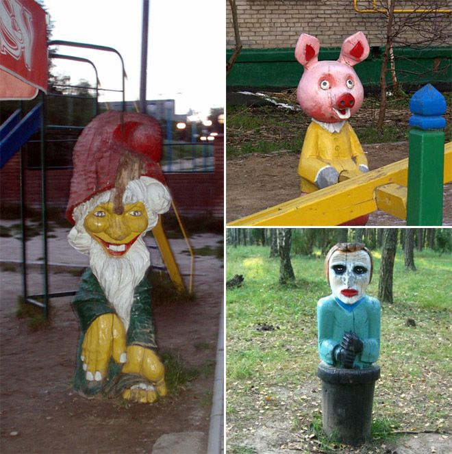 Scary Russian Playground (14 pics)