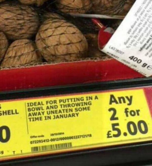 While Shopping You Can Find Lots Of Weird Stuff (16 pics)