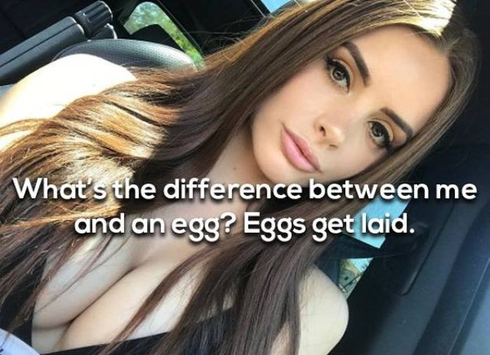 These Girls Can Make Up For Any Kinds Of Jokes (25 pics)