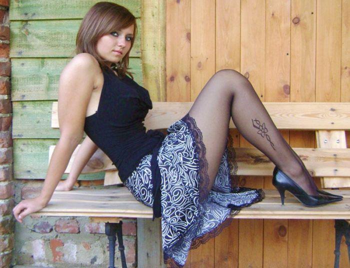 Hot Girls With Beautiful Long Legs (40 pics)
