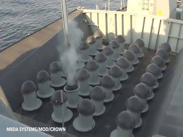 Royal Navy Tests New Missile Defence System on Japan-Bound Ship