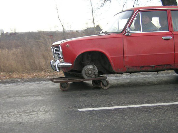 Funny Car Repairs (28 pics)
