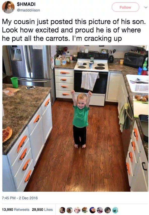 Funny Kid Situations (17 pics)