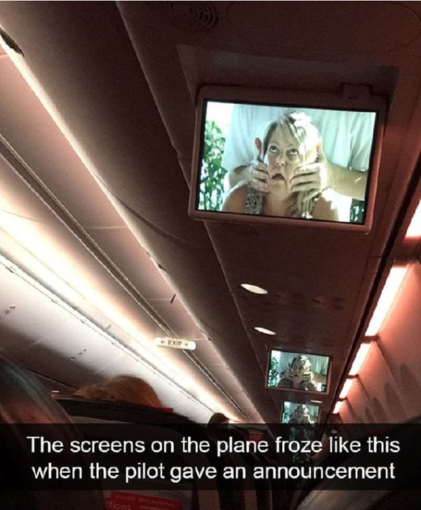 Weird Things Seen On Planes (20 pics)