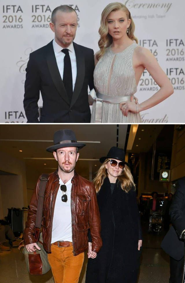 """Real Life Partners Of """"Game Of Thrones"""" Actors Are Far From Their On-Screen Relationships (17 pics)"""