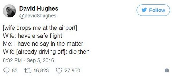 Just A Bunch Of Random And Hilarious Tweets (18 pics)