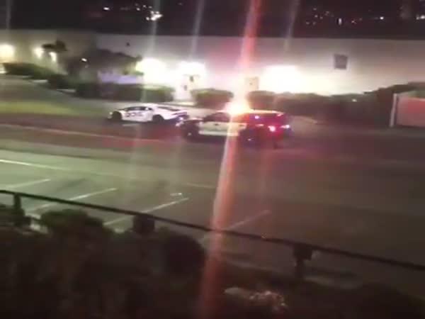 Lamborghini Pursuit Gone Wrong