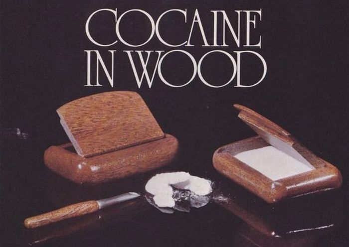 Cocaine and Cocaine accessories Ads 70-80s (9 pics)
