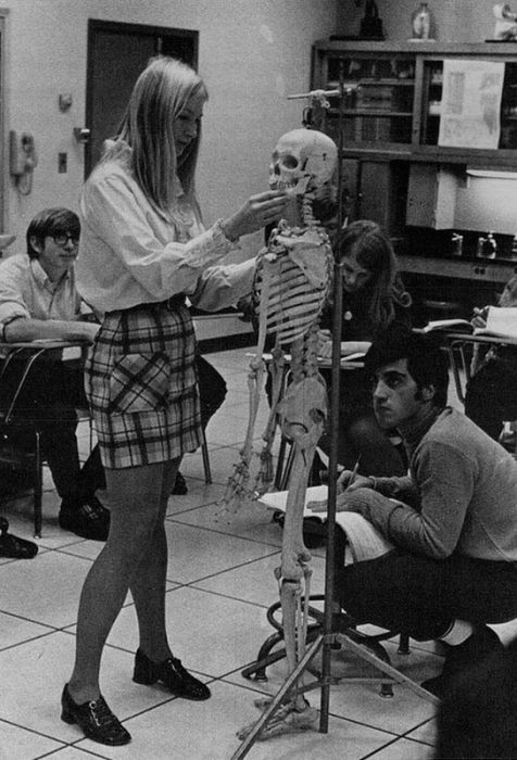 Mini Skirts In The 60s (45 pics)