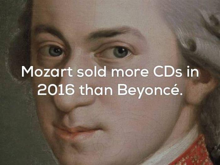 Unbelievable Music Facts (25 pics)