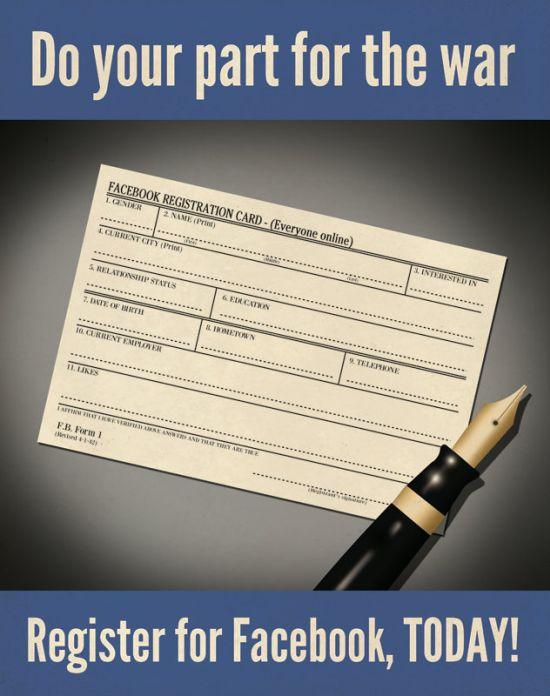 Social Media Propaganda Posters (5 pics)