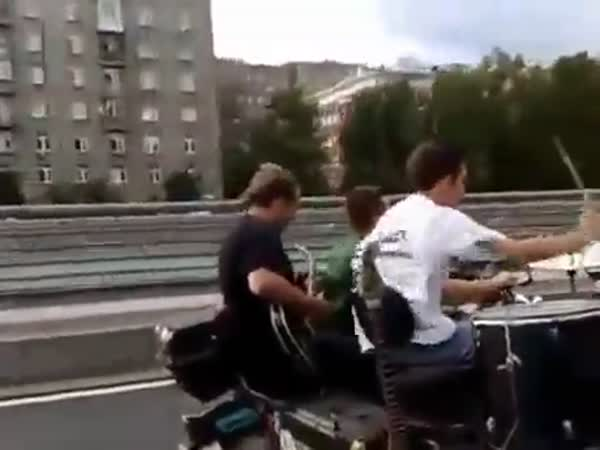 The Best Way to Play Music On A Motorcycle
