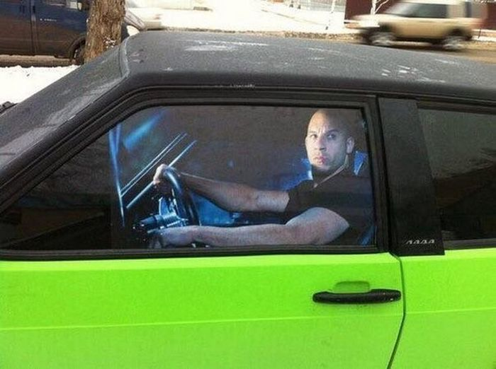 The Worst Crimes Ever Committed Against Cars (15 pics)