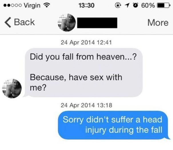 Comebacks Sent By Women To Creepy Men (17 pics)