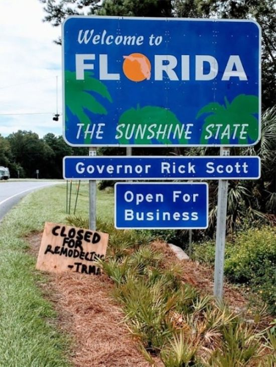 Florida Doesn't Lose Their Sense Of Humor (22 pics)
