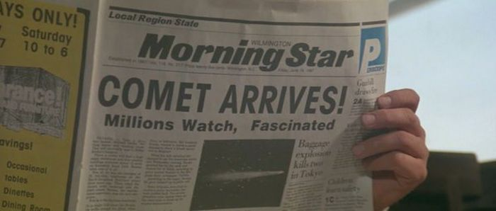 Newspaper Headlines From The Movies (26 pics)