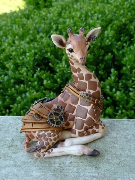 Polymer Sculptures That Look So Real (30 pics)