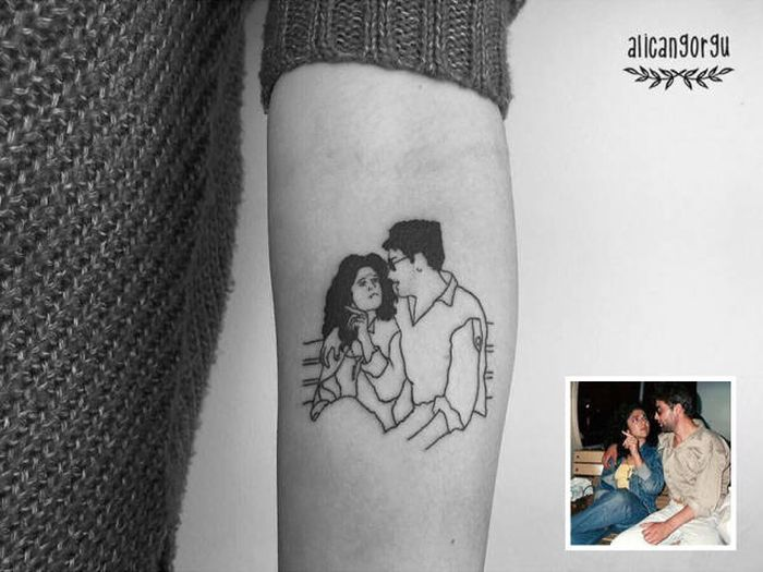 This Tattoo Artist Allows People To Keep Their Memories Forever (21 pics)