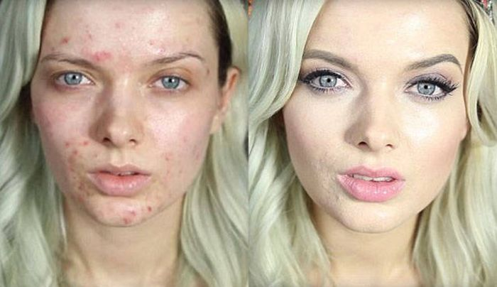 Before And After Makeup (15 pics)