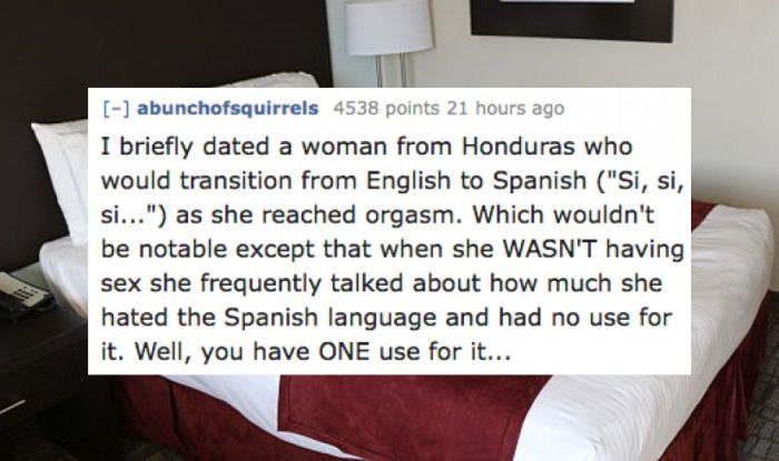 Stories of People Having Sex With Someone From A Different Culture (17 pics)