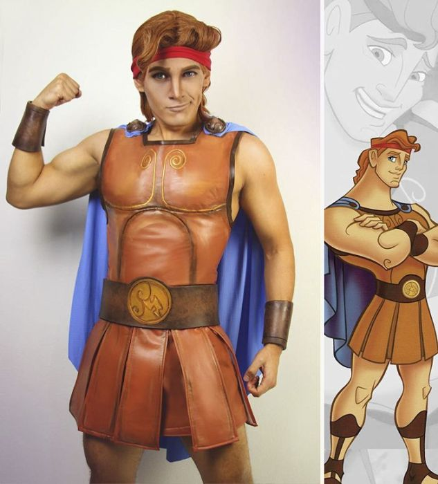 Disney Princes Cosplay (8 pics)