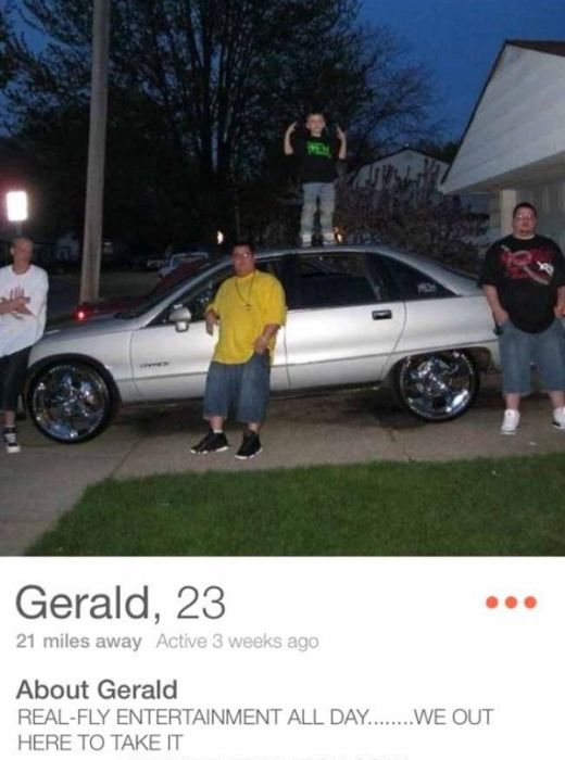 Tinder Profiles That Will Make You Take A Double Look (31 pics)