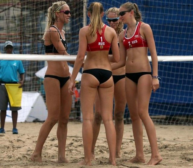 Beach Volleyball Girls (29 pics)