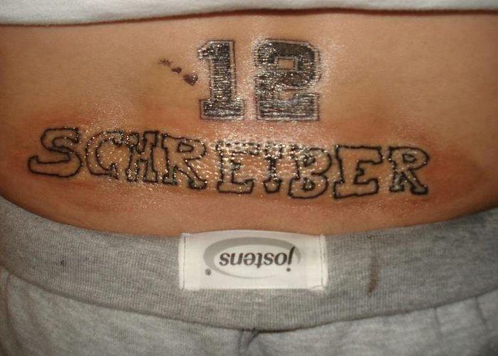The Worst Tattoo Artist Ever (14 pics)