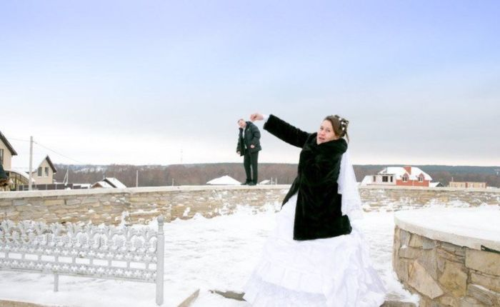 Funny Wedding Photos (38 pics)