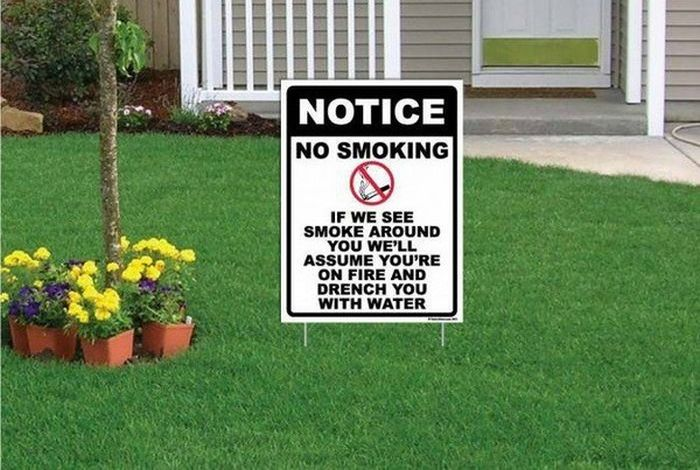 Hilarious Yard Signs (20 pics)