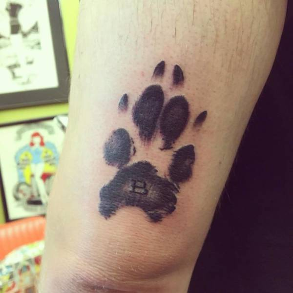 The Most Brilliant Way To Immortalize Your Dog Is To Get A Tattoo With Its Paw (39 pics)