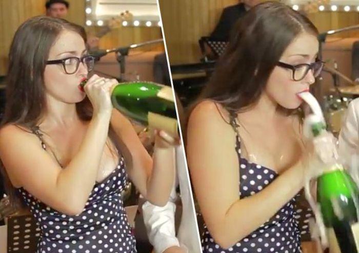 Champagne Bottle Problems (16 gifs)
