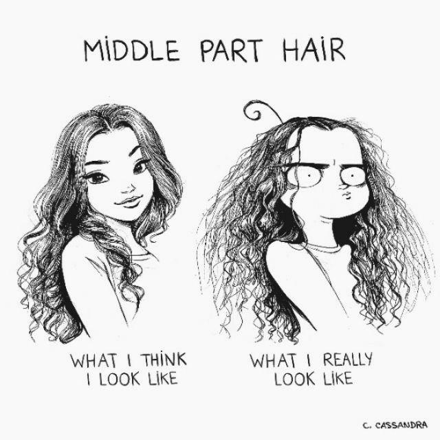 Women's Hair Problems That Men Will Not Understand (20 pics)