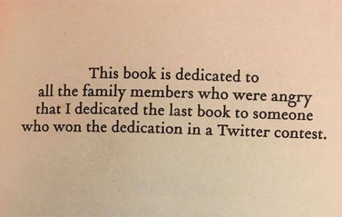 Interesting Book Dedications (40 pics)