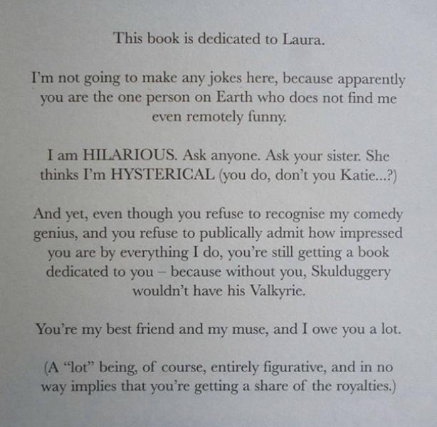 Interesting Book Dedications (40 pics)