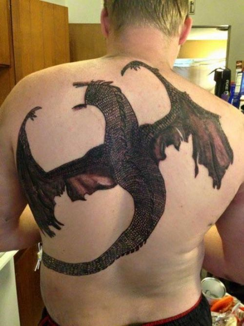 Cringeworthy Tattoo Fails (28 pics)