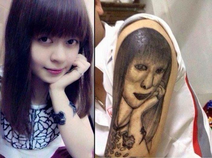 Cringeworthy Tattoo Fails (28 pics)