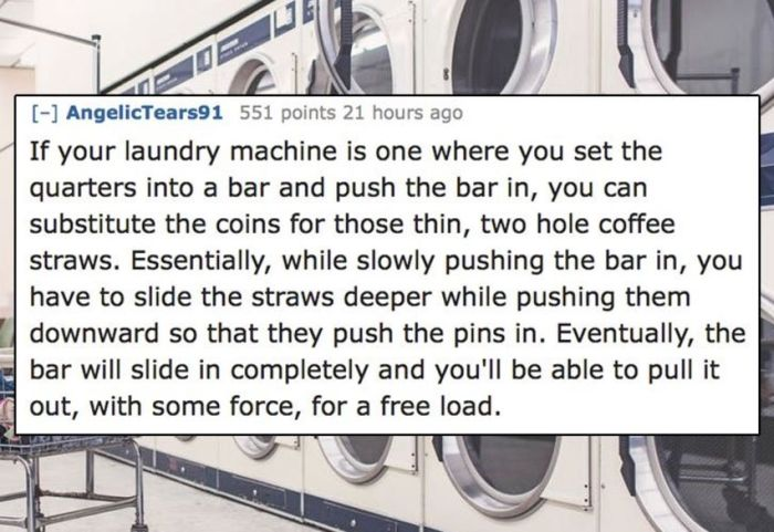 Unethical Life Hacks To Help You Get By (10 pics)