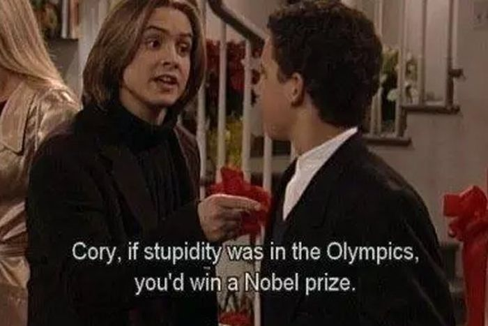 "The Best Moments From The ""Boy Meets World"" (24 pics)"